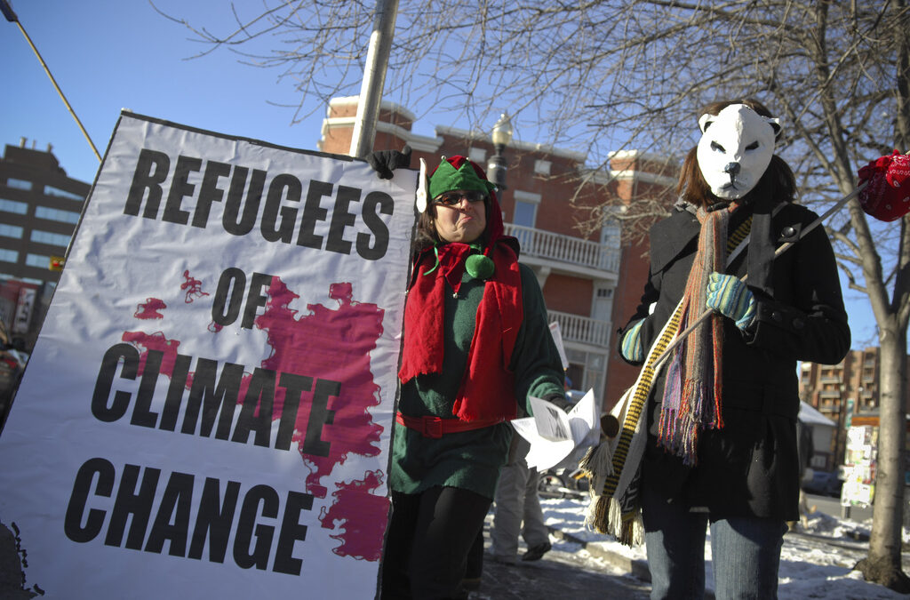 Are climate refugees the biggest threat to achieving social equality?